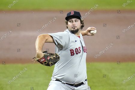 Editorial image of Red Sox Orioles Baseball, Baltimore, United States - 22 Aug 2020