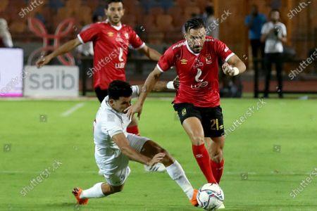 Editorial picture of Egypt Cairo Football Egyptian Premier League Zamalek vs Al Ahly - 22 Aug 2020