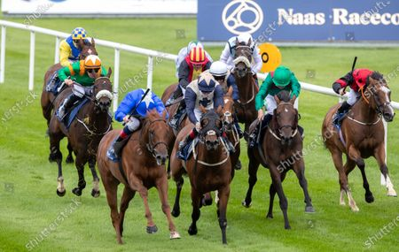 Editorial image of Naas Racing - The Irish EBF Ballyhane Stakes and Lockdown Hero Competition, Naas Racecourse, Naas, Co. Kildare - 23 Aug 2020