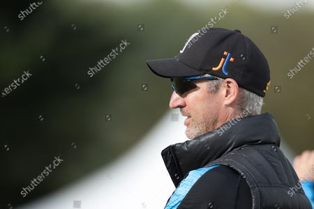 Jason Gillespie of Sussex CCC during Middlesex CCC vs Sussex CCC, Bob Willis Trophy Cricket at Radlett Cricket Club on 23rd August 2020
