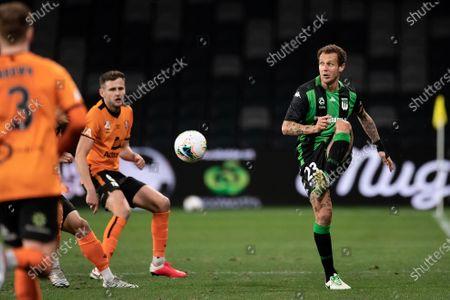 Stock Image of Western United midfielder Alessandro Diamanti (23) kicks the ball