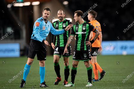 Editorial photo of Brisbane Roar v Western United, A-League, Elimination Final, Football, Bankwest Stadium, Sydney, Australia - 23 Aug 2020