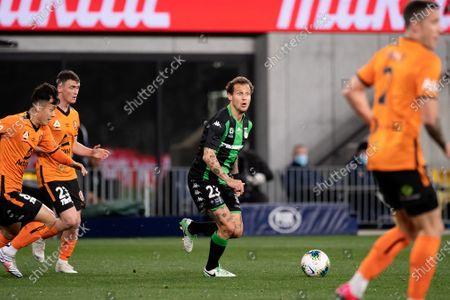 Western United midfielder Alessandro Diamanti (23) looks for a teammate
