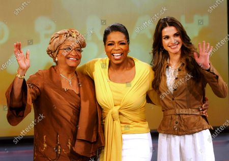 Her Majesty Queen Rania appearing on the Oprah Winfrey Show