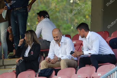Stock Image of Ivan Gazidis and Paolo Maldini (AC Milan)