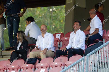 Ivan Gazidis and Paolo Maldini (AC Milan)