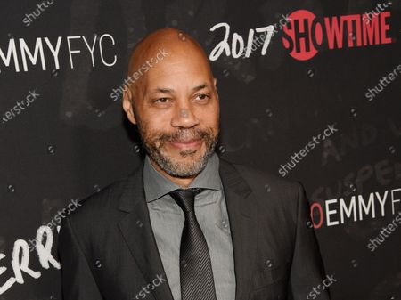 """John Ridley, executive producer of """"Guerrilla,"""" poses at a """"For Your Consideration"""" event for the Showtime series at the Writers Guild of America in Beverly Hills, Calif. Ridley will write the new Batman comic series with plans of the Dark Knight being a person of color. The Oscar-winning screenwriter and DC publisher Jim Lee announced plans for Ridley to write the miniseries during the DC FanDome virtual panel on"""