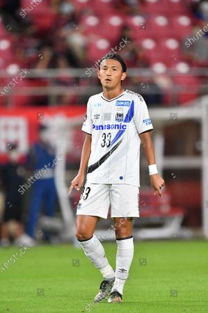 Gamba Osaka's Takashi Usami during the 2020 J1 League match between Kashima Antlers 1-1 Gamba Osaka at Kashima Stadium, Kashima, Ibaraki, Japan.