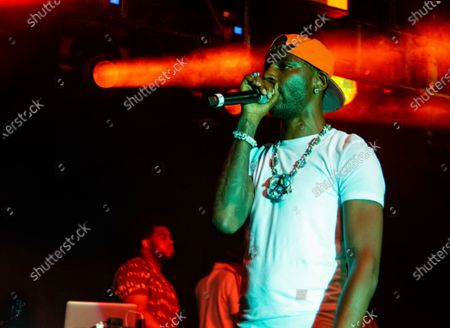 Editorial photo of The Parking Lot Concert in - Young Dolph, Atlanta, United States - 23 Aug 2020