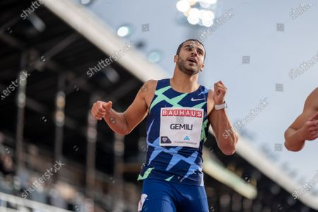 Editorial picture of Sweden Stockholm Athletics Diamond League - 24 Aug 2020