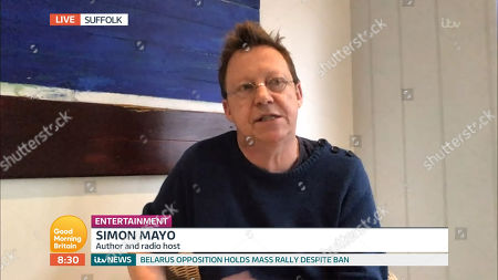 Editorial picture of 'Good Morning Britain' TV show, London, UK - 24 Aug 2020