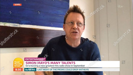 Stock Picture of Simon Mayo
