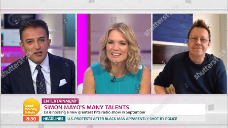 Editorial image of 'Good Morning Britain' TV show, London, UK - 24 Aug 2020