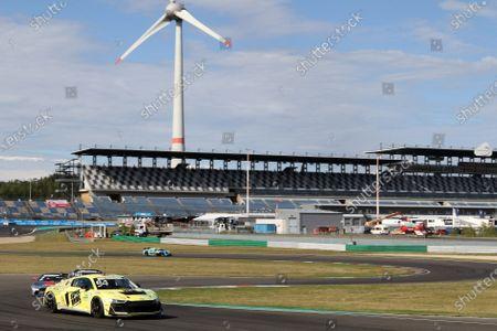 Stock Image of Felix von der Laden (GER) Superdrink by Spielkind Racing - Audi R8)