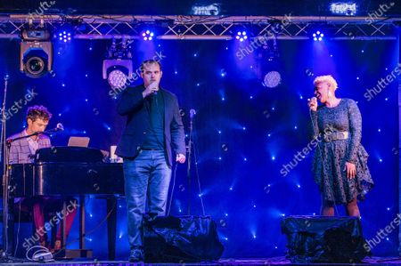 Editorial image of Songs Under The Stars, Betley Court Farm near Crewe, UK - 22 Aug 2020