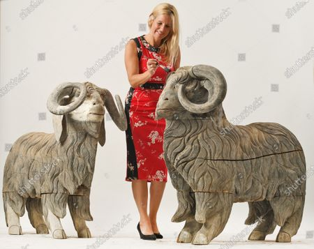 Zoe Smith of Wooley and Wallis with sculptures included in the collection.   The collection of one of Britain's most iconic female sculptors is being sold for £100,000 after spending 25 years of lying undiscovered in a barn.  The paintings, ceramics and other artworks that inspired the late Dame Elisabeth Frink were packed away in the mid-1990s and seemingly forgotten about.  They were only revisited in the last couple of years following the sudden death of her son and heir, Lin Jammet, in 2017.  Over 100 lots will now be sold at auction at Woolley and Wallis in Salisbury, Wilts, after they were displayed alongside Frink's own works at her house, garden and studio in Dorset.