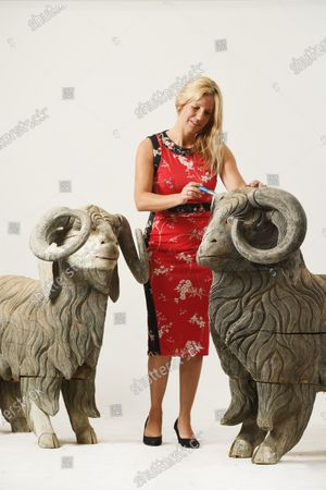Stock Picture of Zoe Smith of Wooley and Wallis with sculptures included in the collection.   The collection of one of Britain's most iconic female sculptors is being sold for £100,000 after spending 25 years of lying undiscovered in a barn.  The paintings, ceramics and other artworks that inspired the late Dame Elisabeth Frink were packed away in the mid-1990s and seemingly forgotten about.  They were only revisited in the last couple of years following the sudden death of her son and heir, Lin Jammet, in 2017.  Over 100 lots will now be sold at auction at Woolley and Wallis in Salisbury, Wilts, after they were displayed alongside Frink's own works at her house, garden and studio in Dorset.
