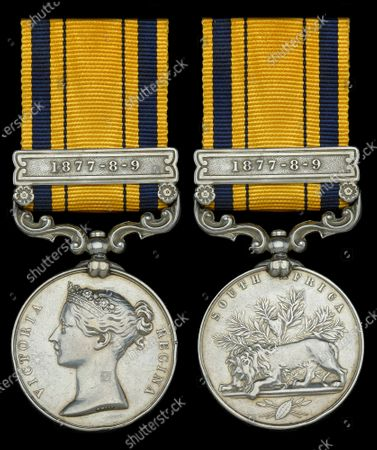 A medal awarded to one of the heroic defenders of Rorke's Drift has sold for £35,000.  Private Thomas Moffatt was part of the 140-strong British garrison which defied all odds to successfully defend the Rorke's Drift mission station from 4,000 marauding Zulu warriors in 1879.  For 12 hours the British repelled the spear-carrying tribesmen with accurate shooting and brutal hand-to-hand combat. The Zulus retreated with 350 of their number killed compared to 17 British.  Their heroics were immortalised in the classic 1964 movie Zulu starring Stanley Baker and Michael Caine.  Pte Moffatt's South Africa 1877-79 medal went under the hammer with London-based auctioneers Dix Noonan Webb.