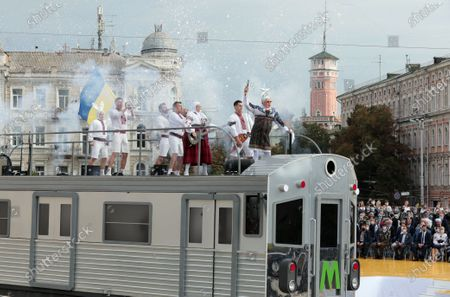 Editorial picture of Independence Day celebrations in Kyiv, Ukraine - 24 Aug 2020