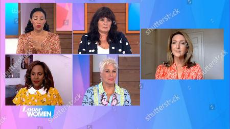 Michelle Ackerley, Coleen Nolan, Kelle Bryan, Denise Welch and Victoria Derbyshire