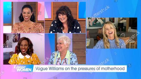 Michelle Ackerley, Coleen Nolan, Kelle Bryan, Denise Welch and Vogue Williams