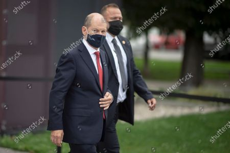 Editorial image of German Minister of Finance and SPD candidate for chancellor Olaf Scholz in Vienna, Austria - 24 Aug 2020