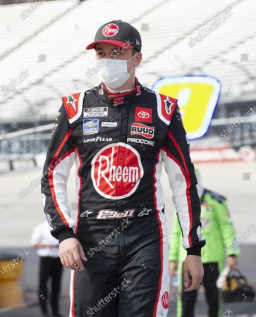 Christopher Bell (95) during a NASCAR Cup Series auto race at Dover International Speedway, in Dover, Del