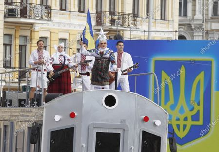 Editorial photo of 29th Independence Day Celebration in Kiev, Ukraine - 24 Aug 2020