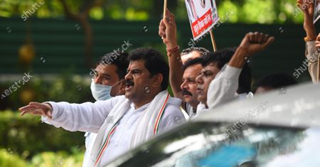 Editorial image of Congress Workers Demonstrate Outside AICC HQ Demanding That Party President Should Be From Gandhi Family, New Delhi, Delhi, India - 24 Aug 2020