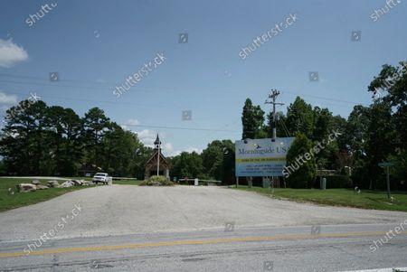 Editorial image of Jim Bakker Church, Blue Eye, United States - 13 Aug 2020