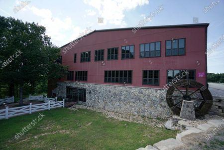 Stock Image of Morningside Church's property, home to televangelist Jim Bakker, is seen, in Blue Eye, Mo