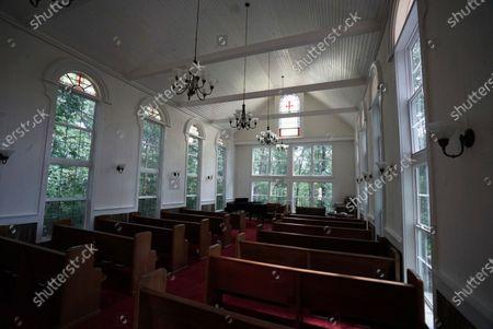 Stock Photo of Morningside Church's property, home to televangelist Jim Bakker, is seen, in Blue Eye, Mo