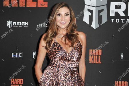 "Heather McDonald arrives at a screening of ""Hard Kill"" at the Hollywood Palladium, in Los Angeles"