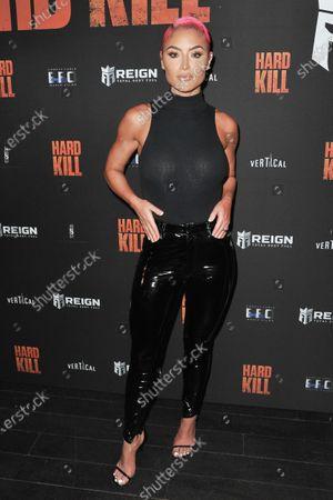 "Editorial photo of Screening of ""Hard Kill"", Los Angeles, United States - 24 Aug 2020"