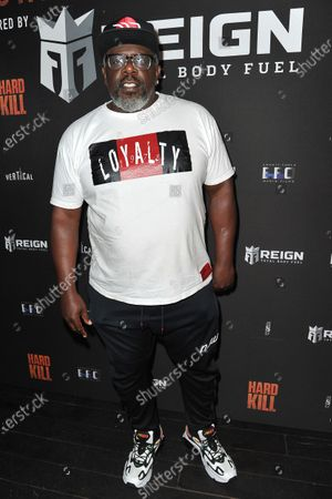 "Cedric the Entertainer arrives at a screening of ""Hard Kill"" at the Hollywood Palladium, in Los Angeles"