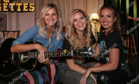 Editorial photo of Runaway June in concert, The Listening Room Cafe, Nashville, Tennessee, USA - 24 Aug 2020