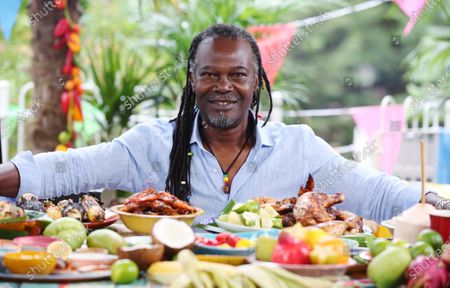 Stock Image of Chef Levi Roots. Samsung and Notting Hill Carnival 2020: Access All Areas have today released an official trailer giving a first look at this weekend's virtual Carnival.