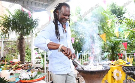 Stock Picture of Chef Levi Roots. Samsung and Notting Hill Carnival 2020: Access All Areas have today released an official trailer giving a first look at this weekend's virtual Carnival.