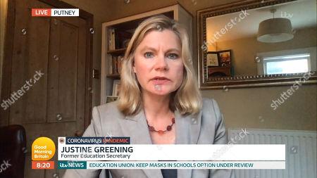 Editorial photo of 'Good Morning Britain' TV show, London, UK - 25 Aug 2020