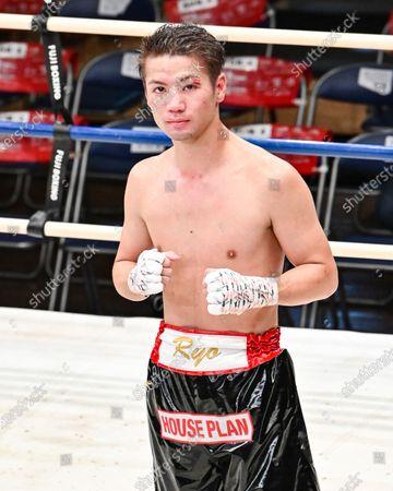 Ryo Matsumoto - Boxing : 8R featherweight bout at Korakuen Hall in Tokyo, Japan.