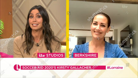 Christine Lampard and Kirsty Gallacher