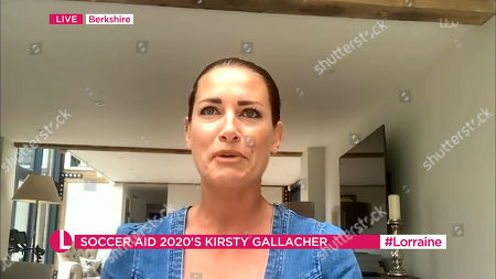 Stock Picture of Kirsty Gallacher