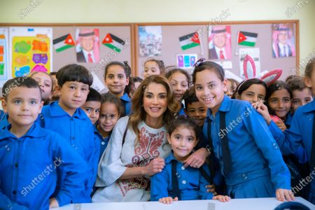 Queen Rania during a visit to Al Dulayl - 4th September 2019