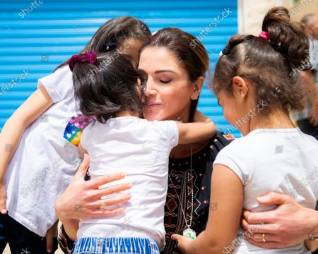 Queen Rania during a visit to Al Karak Governorate - 1st May 2019
