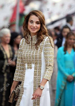 Queen Rania at a ceremony marking Jordan's 66th Independence Day - 25th May 2012