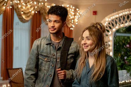 Jordan Fisher as Jake Taylor and Sabrina Carpenter as Quinn Ackerman