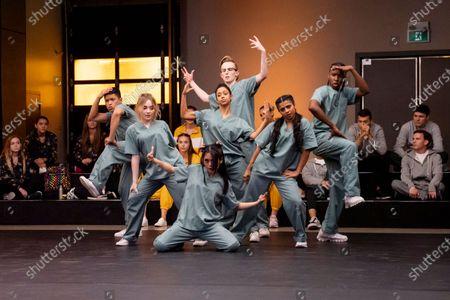 Neil Robles as Chris Royo, Sabrina Carpenter as Quinn Ackerman, Bianca Asilo as Raven, Liza Koshy as Jasmine Hale, Tyler Hutchings as Robby G., Indiana Mehta as Priya, Nathaniel Scarlettte as DJ Tapes