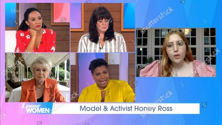 Michelle Ackerley, Coleen Nolan, Gloria Hunniford, Brenda Edwards and Honey Kinney Ross