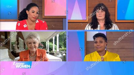 Michelle Ackerley, Coleen Nolan, Gloria Hunniford, Brenda Edwards