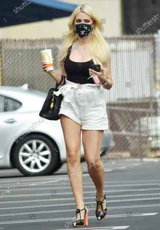 Editorial image of Holly Madison out and about, Los Angeles, USA - 24 Aug 2020